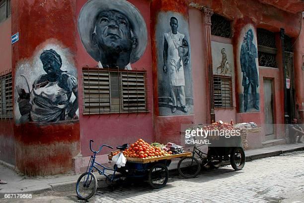 Street of old  Havana Cuba