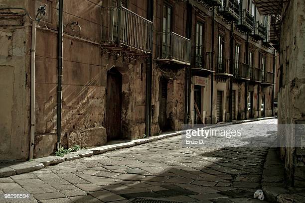 A street of Palermo