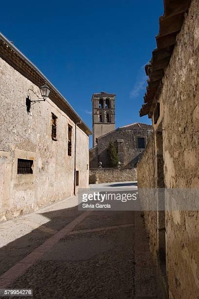 Street of Pedraza, Segovia, Castilla y Leon.