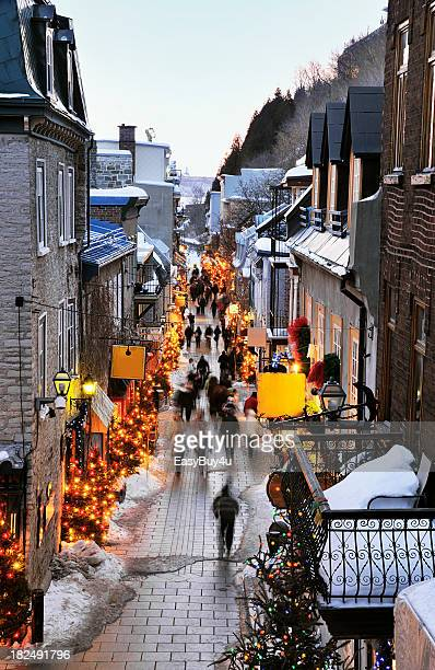 Street of Quebec city