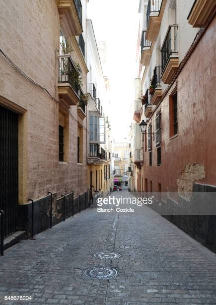 Street of the old town of Cadiz