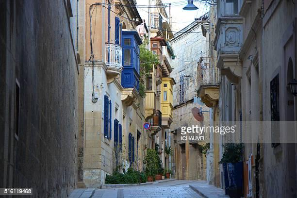 Street of Vittoriosa Malta