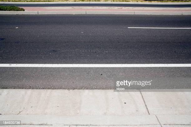 Street auf einer Seite