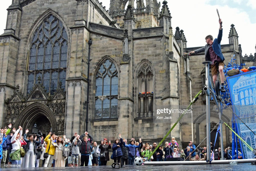 Edinburgh Festival Fringe Street Events