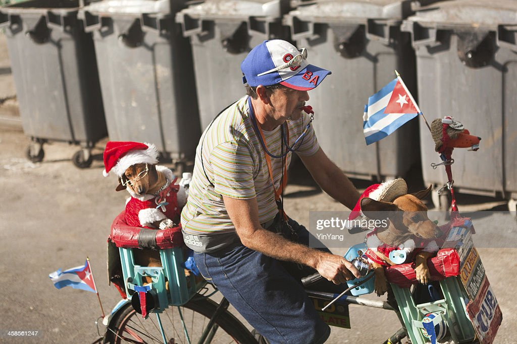 Street Performer in Havana Cuba : Stock Photo