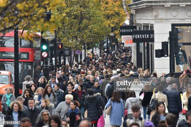 Street pictures of Black Friday on November 24 2017 in London England PHOTOGRAPH BY Matthew Chattle / Barcroft Images