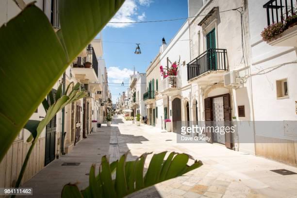 Street, Polignano a Mare, Italy