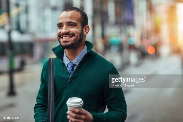 street portrait of a young businessman - recruitment stock pictures, royalty-free photos & images