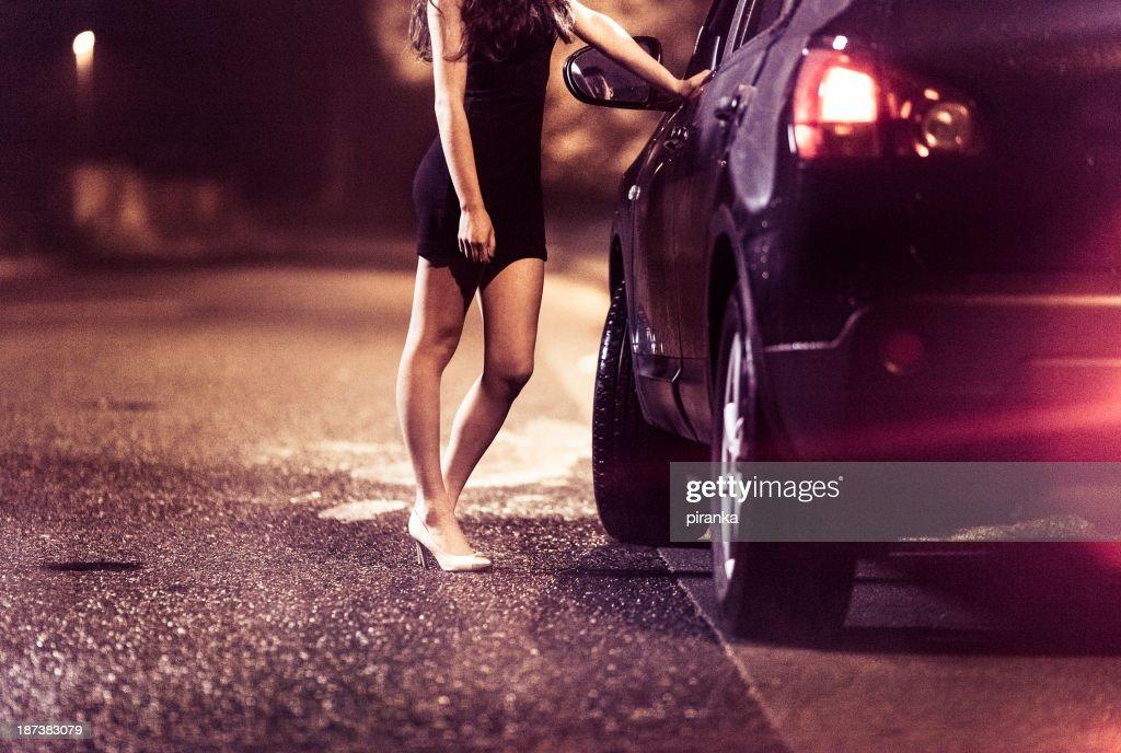 Street Prostituierte : Stock-Foto