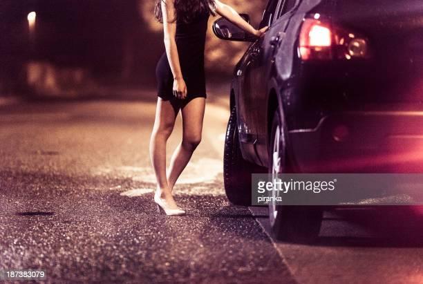 street prostituierte - huren stock-fotos und bilder