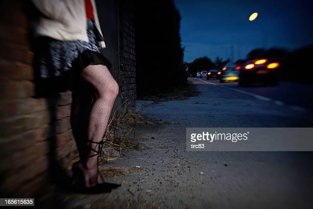 street prostitution konzept - huren stock-fotos und bilder