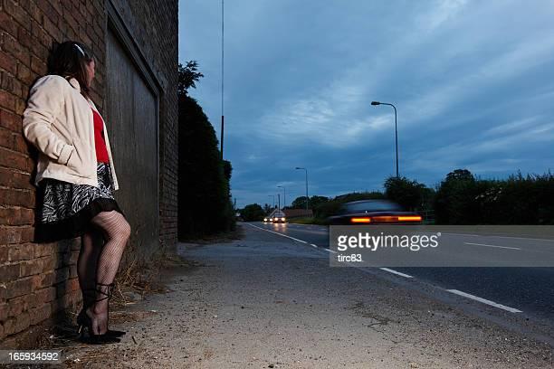 rua prostituição conceito - prostituta - fotografias e filmes do acervo