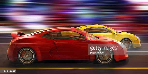street race - auto racing stock pictures, royalty-free photos & images