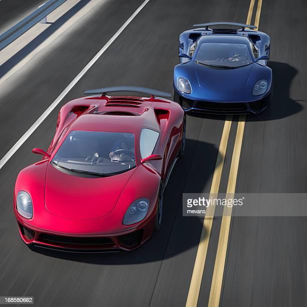 ストリートのレース - 自動車レース ストックフォトと画像