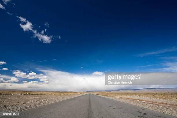 Street Ruta 40, Patagonia, Argentinia, South America