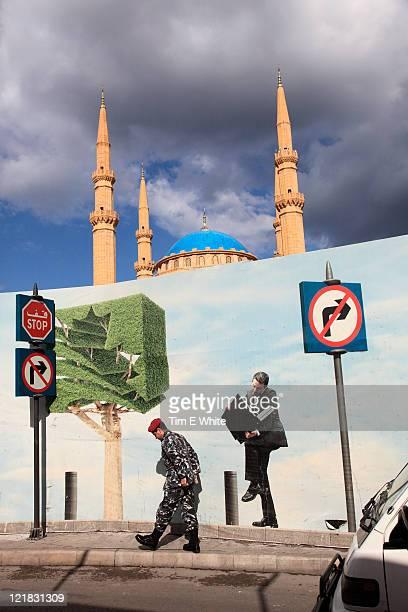 Street scene, Beirut, Lebanon