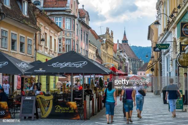 Street scene Brasov, Romania