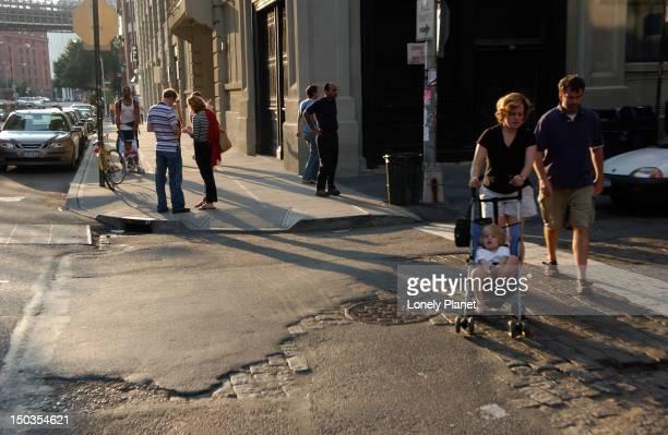 Street scene, DUMBO, Brooklyn.