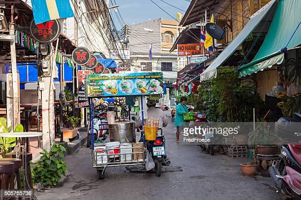 Street scene Hua Hin, Thailand.