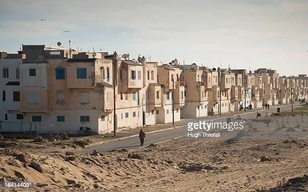 street scene in arabic north african town - hugh threlfall stock pictures, royalty-free photos & images