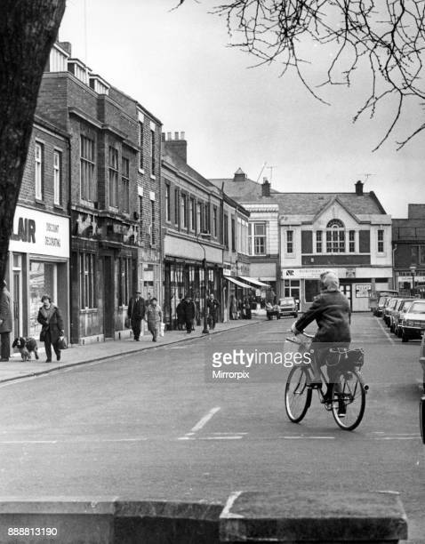 Street scene in Blyth 1st April 1976