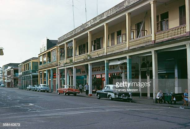 A street scene in Colón Panama May 1962