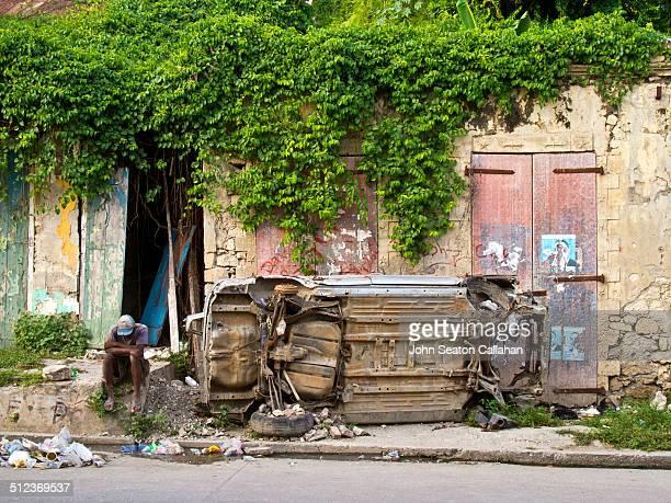 Street scene in Jacmel