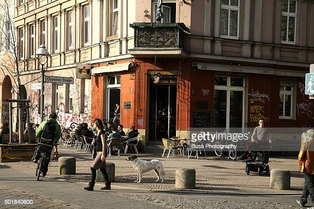 Street scene in Kreuzberg, alternative neighborhood in Berlin (Germany)