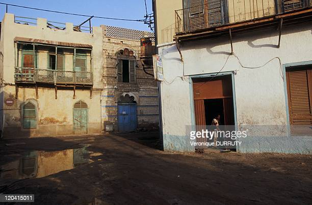 Street scene in Massawa Eritrea She was longtime the Pearl of the Red Sea Mythical city ideally situated on the trade route since ancient times...