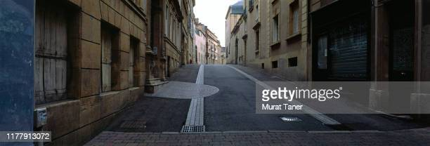 street scene in metz - lorraine stock pictures, royalty-free photos & images