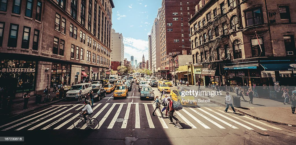 City Street Day Wallpaper Finest New York Streets Buildings