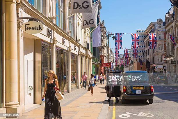 Street scene in Old Bond Street