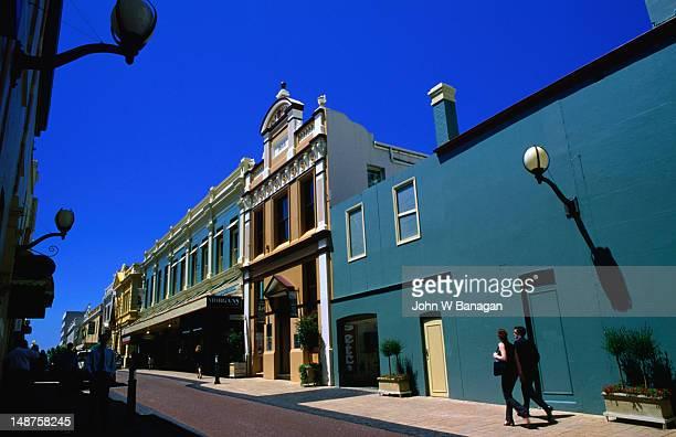 Street scene in Perth, Western Australia