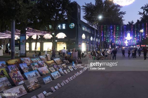 Street scene in Tashkent, Uzbekistan