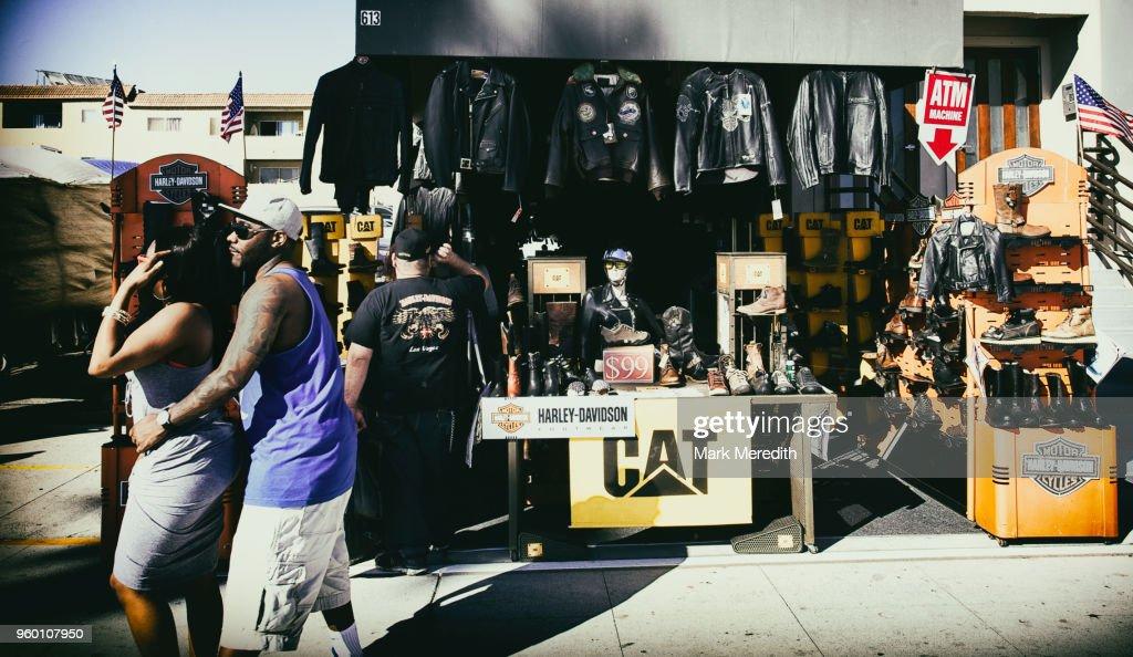 Street scene in Venice beach : Stock-Foto
