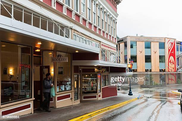 Street scene Juneau
