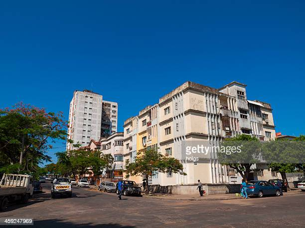 street scene maputo, mozambique - maputo city stock pictures, royalty-free photos & images