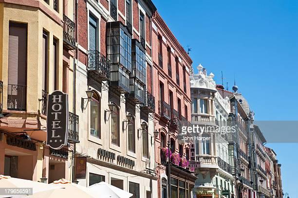 Street scene, Oviedo, Asturias, Spain