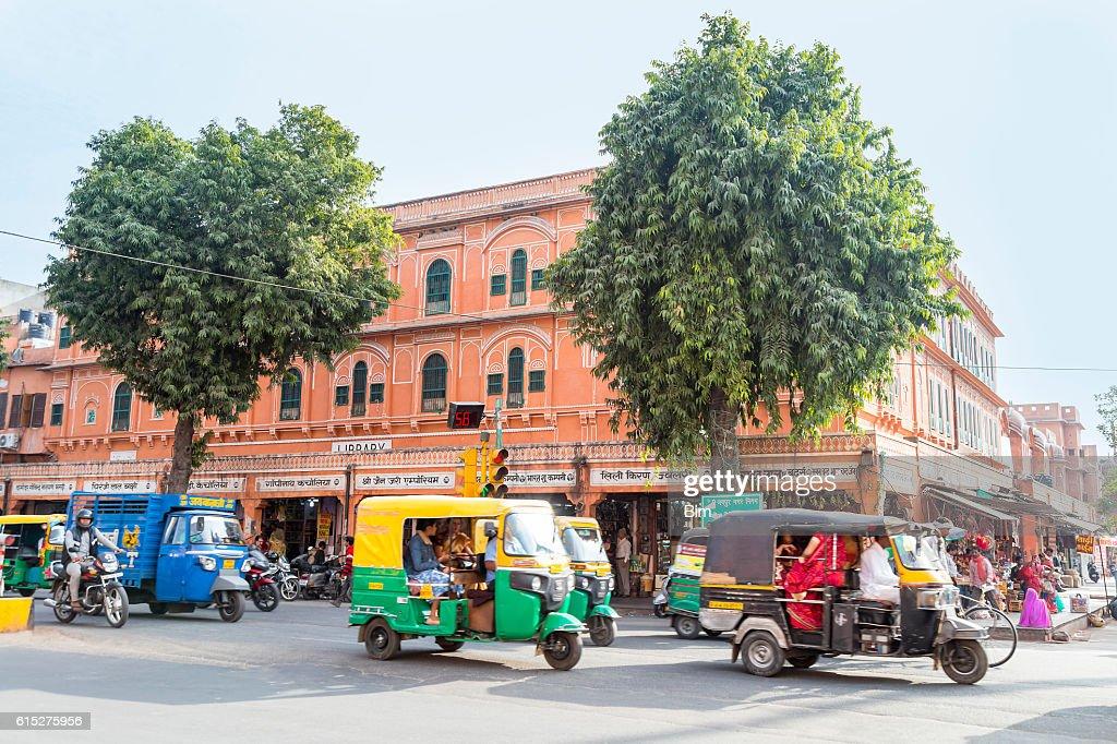 Street Scene, Udaipur, Indien : Stock Photo