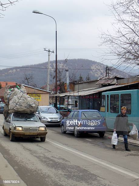 CONTENT] Street scenery in northern Mitrovica