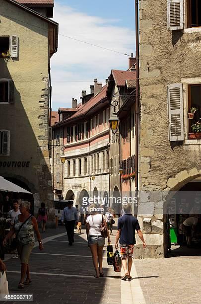 Paysage urbain de Annecy