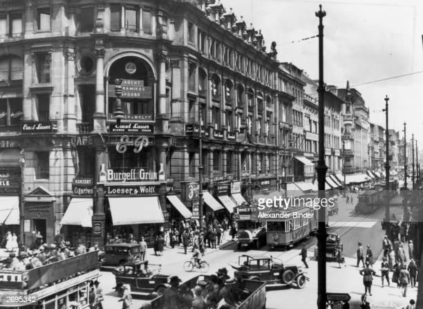 Street scenes from the German capital Berlin