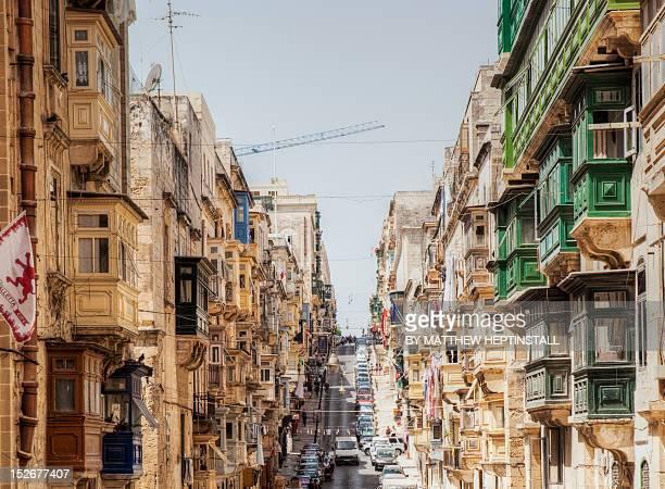 Street scenes of Valetta