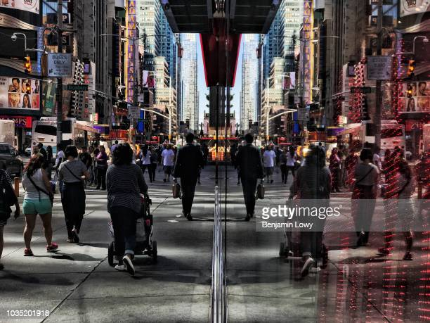 Street scenes shot on an Apple iPhone 7 Plus before the official launch on September 15 2016 in New York City New York Processed with the Snapseed App