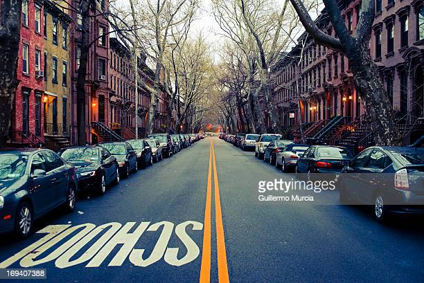 street school lane - fort greene stock pictures, royalty-free photos & images