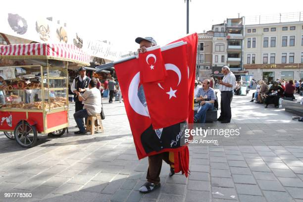 Street Sellers in Istanbul,Turkey