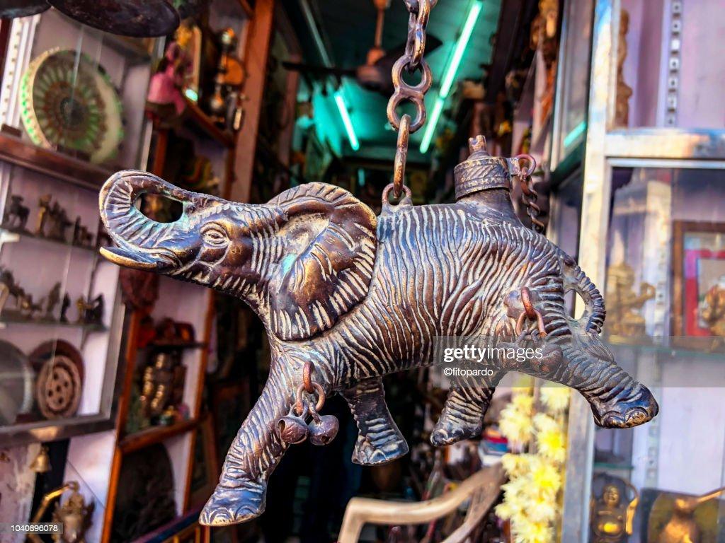 Street shopping on Udaipur : Stock Photo
