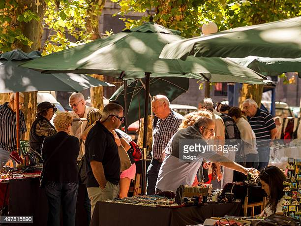 street shops in montevideo, uruguay - pop up store stock pictures, royalty-free photos & images