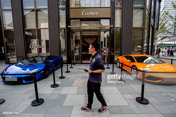 A street show of Lamborghini in Chengdu Tai Koo Li On Oct7 SinoOcean Taikoo Li Chengdu a 100000 sqm openplan lanedriven retail complex located in the...