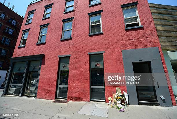 A street shrine to sixyearold Etan Patz who disappeared 33 years ago is set in front of the building where suspect Pedro Hernandez confessed to have...